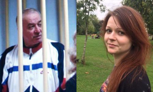 Cựu điệp viên hai mang Nga Sergei Skripal và con gái Yulia. Ảnh: AFP.