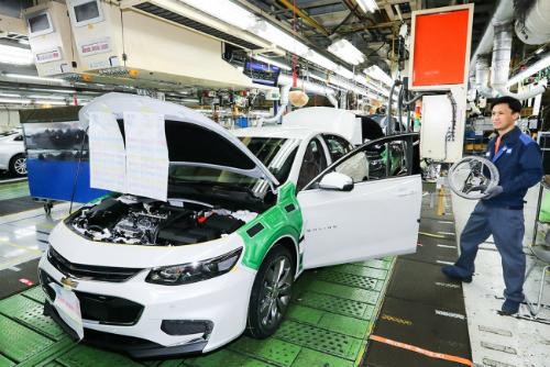 Chính phủ Hàn Quốc đề nghị cấp 470 triệu USD để GM tiếp tục hoạt động. Ảnh: The Investor.