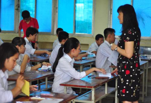Chương trình giáo dục phổ thông mới muốn thành công phải áp dụng đúng sĩ số lớp học theo quy định. Ảnh: Quỳnh Trang.