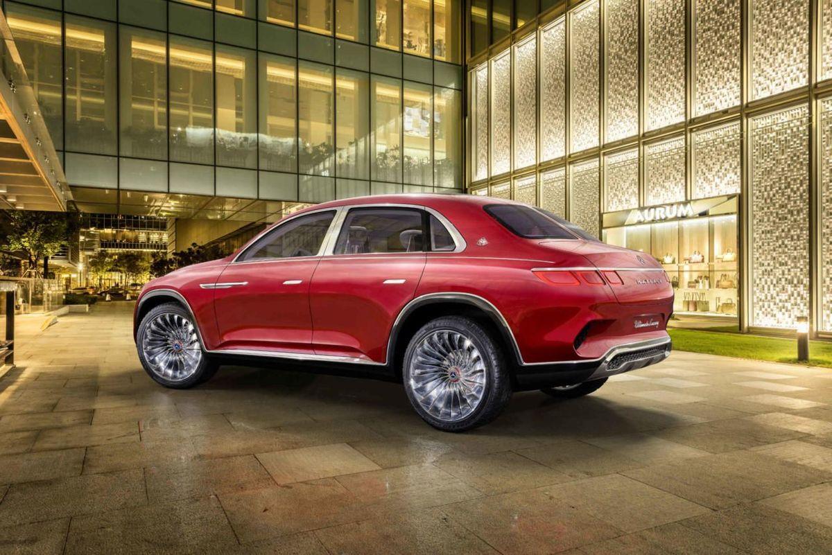 Mẫu concept của Mercedes-Maybach mang kiểu dáng đuôi xe khá lạ lẫm so với các mẫu SUV