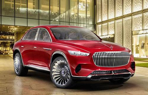SUV Mercedes-Maybach sẽ xuất hiện tại triển lãm xe Bắc Kinh. Ảnh: Carscoops.