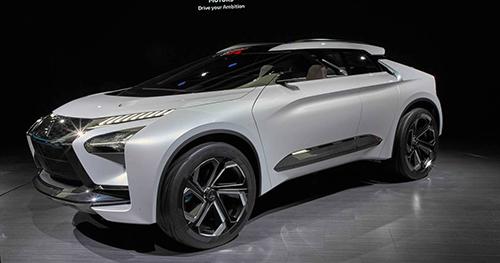 Concept e-Evolution của Mitsubishi tại triển lãm Tokyo, tháng 10/2017. Ảnh: Motor1.
