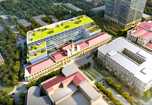 Phương án thiết kế nâng cấp trụ sở UBND TP HCM của Công ty Gensler (Mỹ).