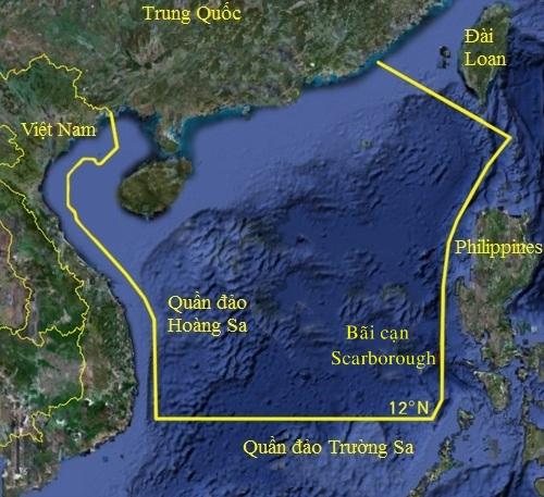Khu vực Trung Quốc đơn phương áp lệnh cấm đánh bắt cá hàng năm. Đồ họa: Sina