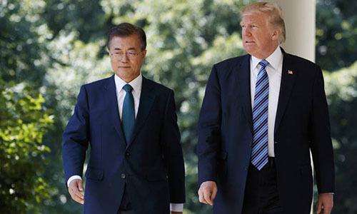 Trump dự kiến họp với Tổng thống Hàn trước khi gặp Kim Jong-un