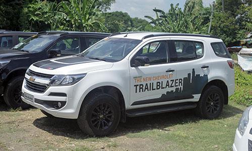 Tân binh Chevrolet Trailblazer bán ra từ ngày 3/5 với giá từ 859 triệu đến 1,075 tỷ đồng. Ảnh: Lương Dũng.
