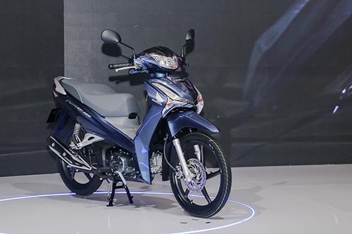 Honda Future mới ra mắt tại Hà Nội 26/4. Ảnh: Ngọc Tuấn.