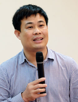 Cục phó Quản lý chất lượng (Bộ Giáo dục và Đào tạo), TS Sái Công Hồng. Ảnh: Quỳnh Trang.