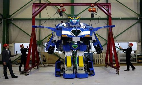RobotJ-deite Ride sẽ chở người trong công viên giải trí. Ảnh: Newsweek.
