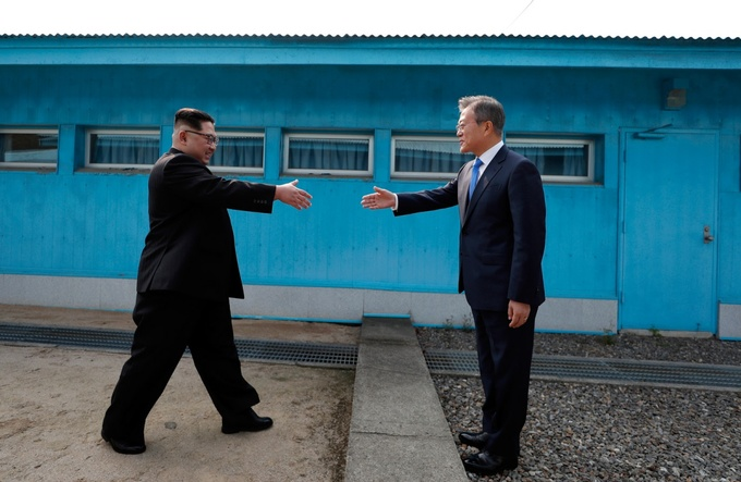 Những khoảnh khắc ấn tượng trong cuộc họp thượng đỉnh Hàn - Triều