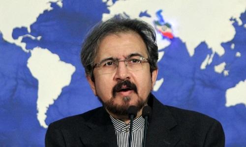 Phát ngôn viên Bộ Ngoại giao Iran Bahram Qassemi. Ảnh: RT.