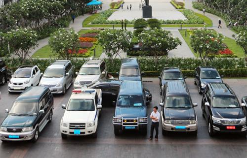 TP HCM là địa phương đầu tiên trong cả nước thí điểm cho thuê xe công theo hướng dẫn của Bộ Tài chính. Ảnh:Trung Sơn