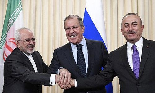 Nga, Iran, Thổ Nhĩ Kỳ quyết quét sạch khủng bố ở Syria