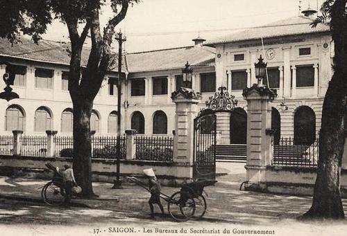 Toà nhà hồi đầu thế kỷ 19.