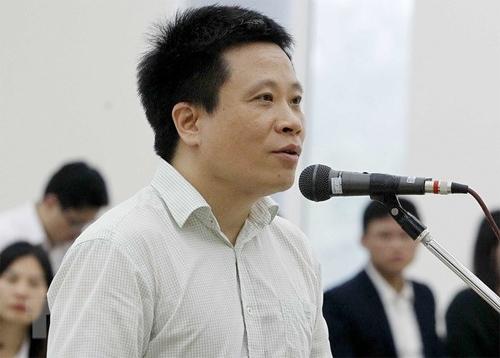 Bị cáo Hà Văn Thắm. Ảnh: TTXVN