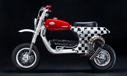 Vespa PX150 độ kiểu lạ - xe ga lai môtô