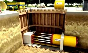 TP HCM sử dụng khoan kích ngầm xây đường ống nước thải