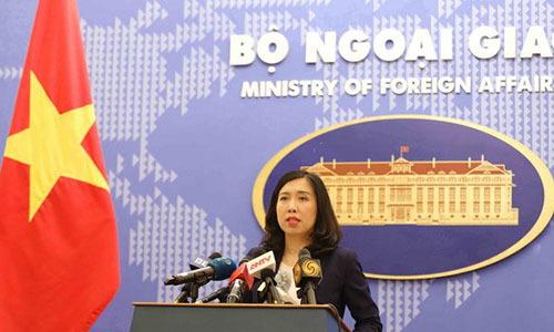 Việt Nam lên tiếng về báo cáo nhân quyền 2017 của Mỹ
