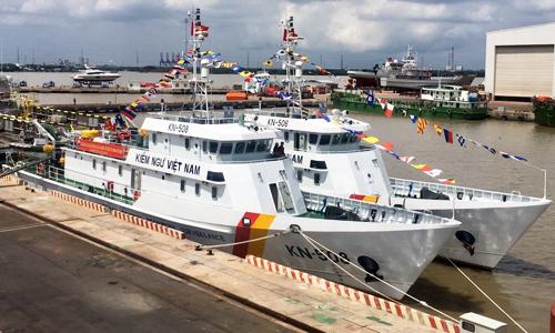 Kiểm ngư Việt Nam có thêm 2 tàu vỏ thép