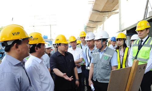 Đề xuất khai thác đoạn trên cao đường sắt Nhổn - ga Hà Nội từ năm 2020