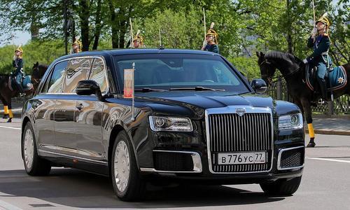 Tổng thống Nga đi chuyên xa nội địa tới lễ nhậm chức