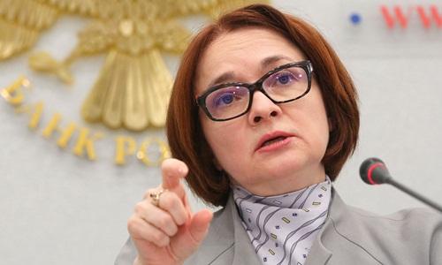 Nhà kinh tế học nổi tiếng Elvira Nabiullina. Ảnh: Bloomberg.