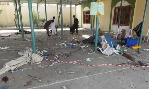 Đánh bom điểm đăng ký bầu cử tại Afghanistan, 14 người chết