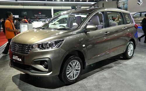 Suzuki Ertiga thế hệ mới giá từ 13.500 USD tại Indonesia