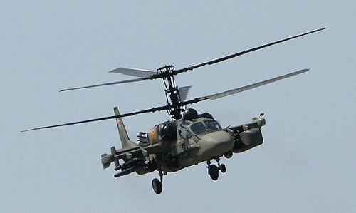 """Trực thăng """"Cá sấu bay"""" Nga rơi ở Syria, hai phi công thiệt mạng"""