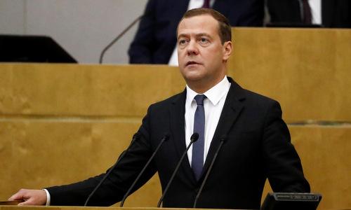 Hạ viện Nga thông qua đề cử Medvedev làm Thủ tướng Nga