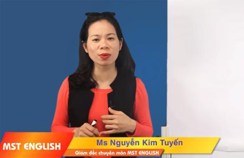 Giới thiệu trên website trung tâm tiếng Anh, bà Nguyễn Thị Kim Tuyến xưng là giám đốc chuyên môn.