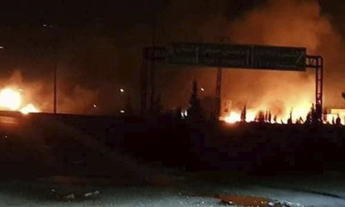 Syria tung video chặn tên lửa bị nghi của Israel
