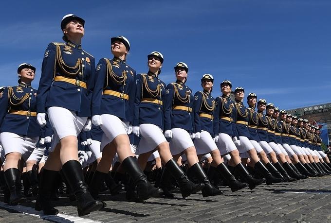 Những hình ảnh ấn tượng trong Duyệt binh Chiến thắng Nga