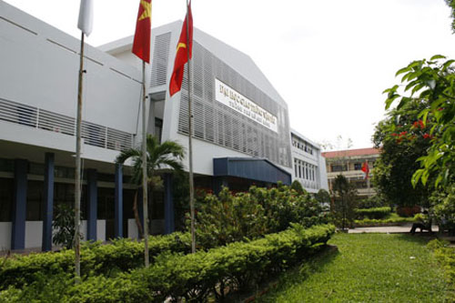 Cơ sở quận Bình Thạnh của Đại học Giao thông vận tải TP HCM. Ảnh:ut.edu.vn