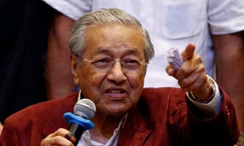 Thủ tướng 92 tuổi của Malaysia tuyên thệ nhậm chức