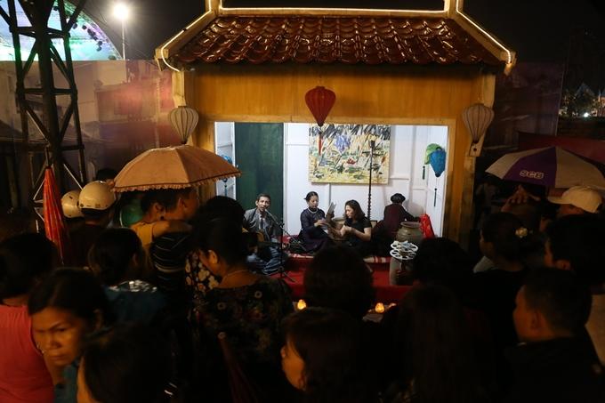 Phố đi bộ Trịnh Công Sơn trong ngày đầu khai trương
