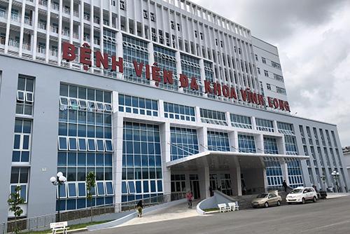 Bệnh viện đa khoa Vĩnh Long được xây dựng mới, hiện đại; đang thiếu hụt hàng chục bác sĩ. Ảnh: Cửu Long