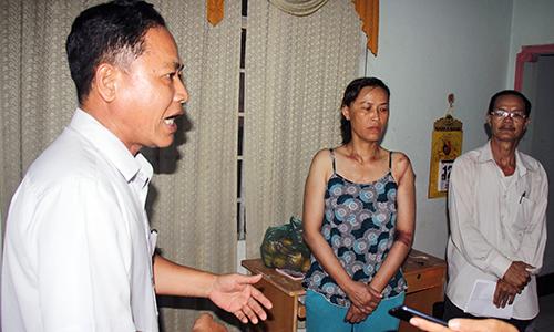 Phường xin lỗi bé gái 13 tuổi bị còng tay khi cưỡng chế đất