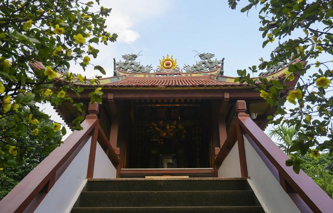 Chùa Một Cột hơn 50 năm tuổi ở Sài Gòn