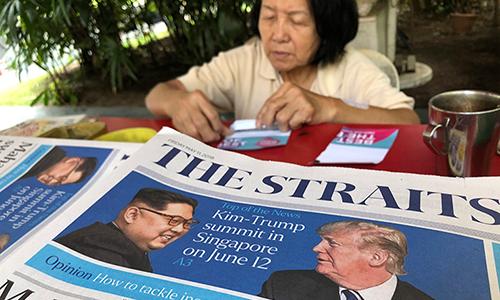 Người Singapore háo hức trước cuộc gặp lịch sử Trump - Kim