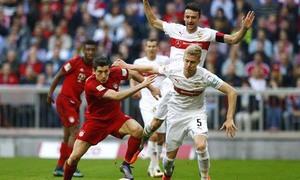 Bayern Munich 1-4 Stuttgart(Vòng 37 Bundesliga 2017/18)