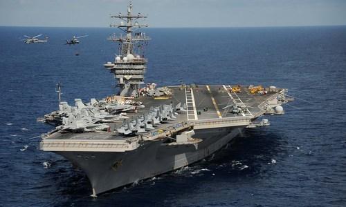 Lần thị uy lớn nhất của 4 tàu sân bay Mỹ trên Địa Trung Hải năm 1982