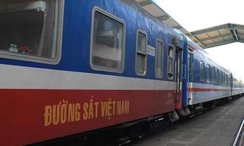 Đường sắt đổi giờ tàu chất lượng cao Bắc - Nam