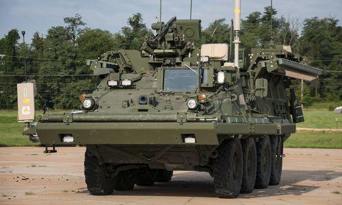 """""""Màn thép"""" bảo vệ xe quân sự Mỹ trước vũ khí chống tăng"""