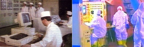 Các nhà khoa học Triều Tiên làm việc tại cơ sở hạt nhân ở Yongbyun, tỉnh Pyongan. Ảnh: Korea Times.