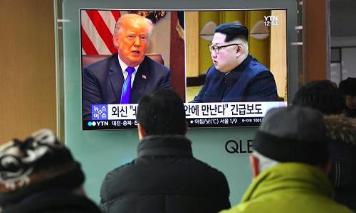 Cuộc họp thượng đỉnh Mỹ - Triều đang thu hút quan tâm của cả thế giới. Ảnh: AFP.