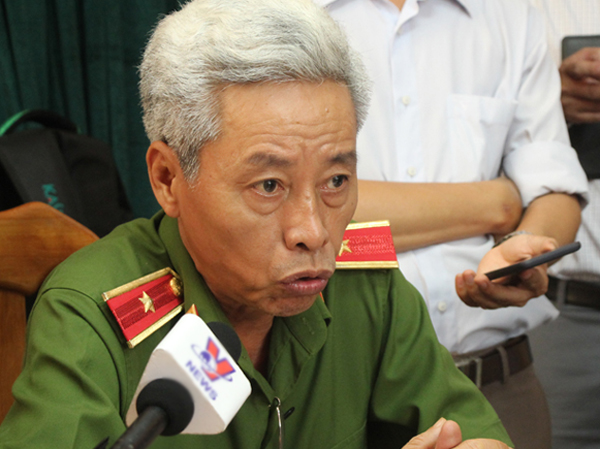 Thiếu tướng Phan Anh Minh. Ảnh: Sơn Hòa.