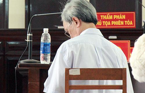 Bị cáo Thủy trong phiên tòa phúc thẩm. Ảnh: Nguyễn Khoa