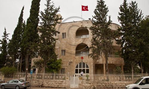 Lãnh sự quán Thổ Nhĩ Kỳ tại thành phố Jerusalem. Ảnh: Nir Alon.