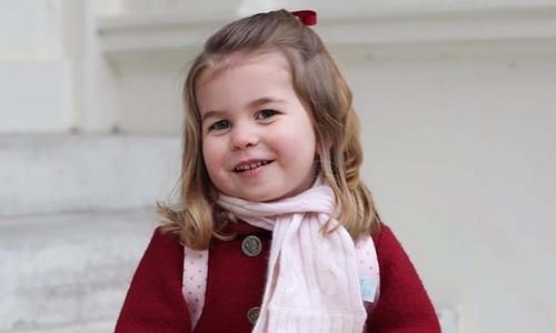 Công chúa Charlotte làm phù dâu cho đám cưới Hoàng tử Anh